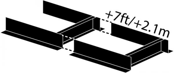 Frontier Sägewerksverlängerung 210 cm