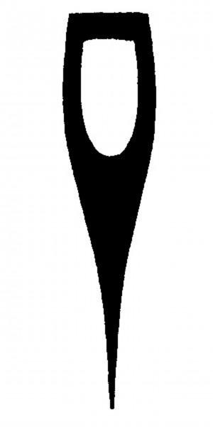 Nordforest Axtstiel Hickory, 60 cm für kantiges Auge 25/60 mm