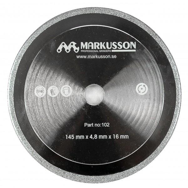 Markusson Diamantschleifscheibe 145 x 4,8 x 16 mm