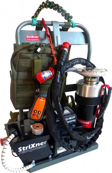 Strixner Fällsystem HK20T-150 Akku mit Tragesystem