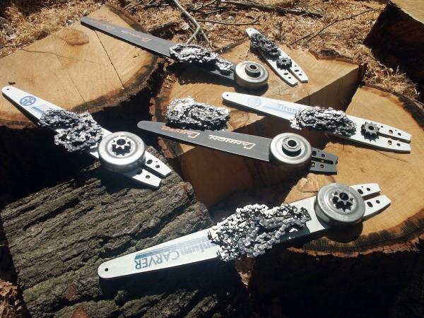 Carvingausrüstung für Husqvarna Akku-Sägen