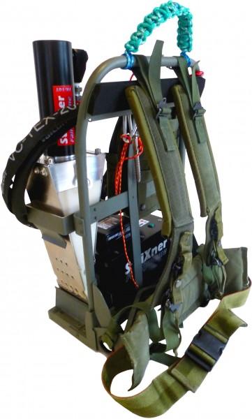 Strixner Fällsystem FK10T Akku mit Tragesystem